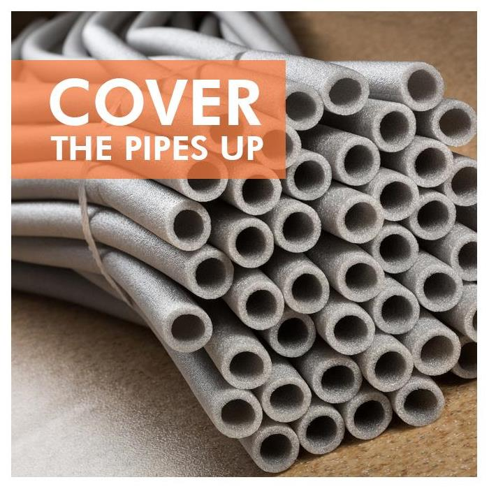 Insulation covers for pipes